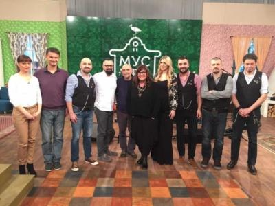 """Blah Blah Band na TV Vojvodina u emisiji """"Mustre"""""""